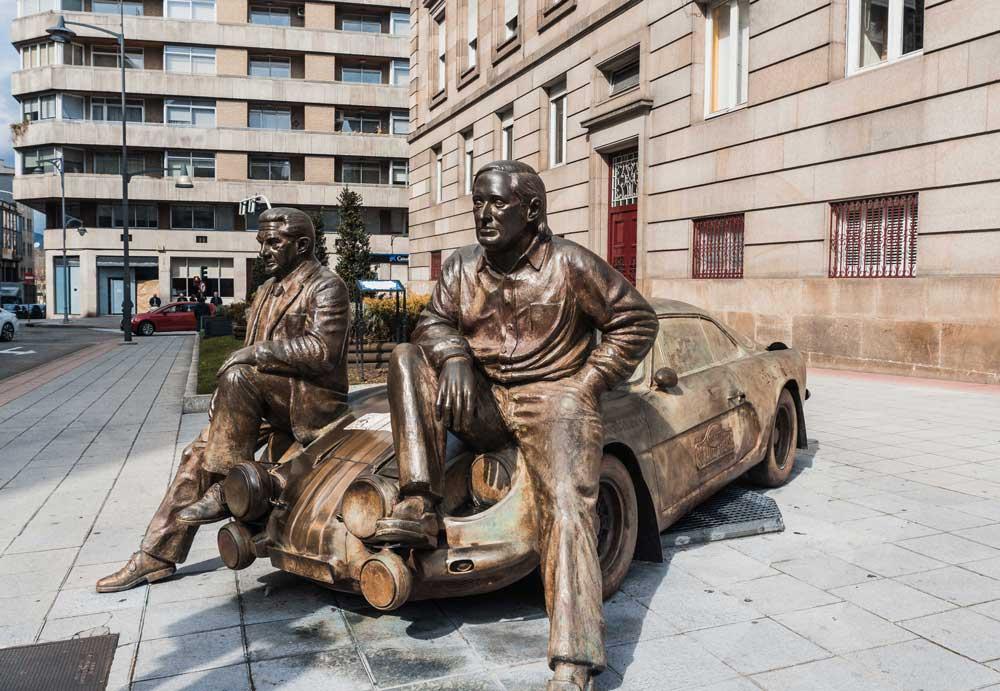 Ourense estatuas