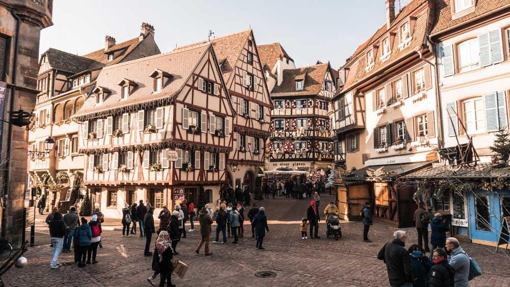 Colmar, pueblos Alsacia
