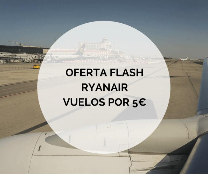 Ryanair vuelos a 5 euros